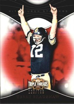 2009 Topps Triple Threads #91 Terry Bradshaw Front