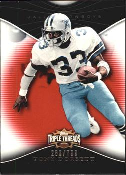 2009 Topps Triple Threads #97 Tony Dorsett Front