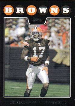 2008 Topps Cleveland Browns #4 Braylon Edwards Front