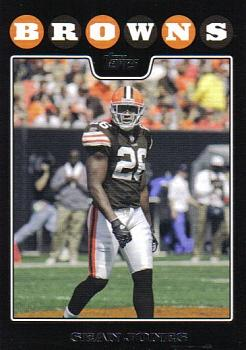 2008 Topps Cleveland Browns #7 Sean Jones Front