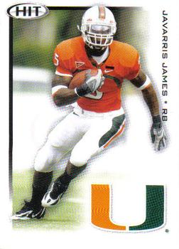 2010 SAGE HIT #30 Javarris James Front