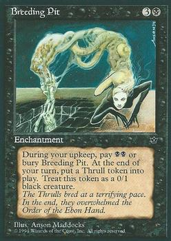 1994 Magic the Gathering Fallen Empires #NNO Breeding Pit Front