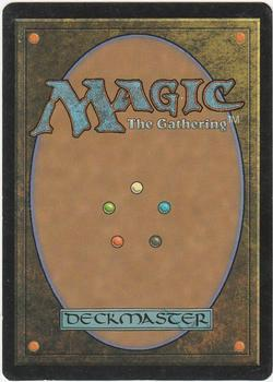 2001 Magic the Gathering Apocalypse #87 Sylvan Messenger Back