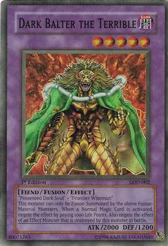 2003 Konami Yu-Gi-Oh: Legacy of Darkness #LOD-002 Dark Balter the Terrible Front