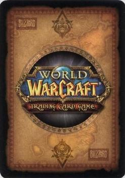 2012 Cryptozoic World of Warcraft Crown of the Heavens #3 Tyrus Blackhorn Back