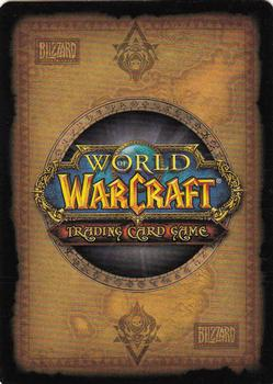 2012 Cryptozoic World of Warcraft Murkdeep #23 Blueleaf Tubers Back