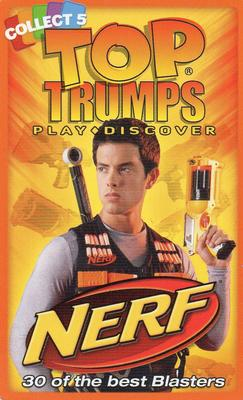 2012 Top Trumps Nerf #NNO Title Card Front