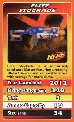 2012 Top Trumps Nerf #NNO Elite Stockade Front