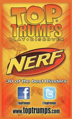 2012 Top Trumps Nerf #NNO Nerf N-Strike Hail-Fire Back