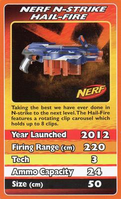 2012 Top Trumps Nerf #NNO Nerf N-Strike Hail-Fire Front