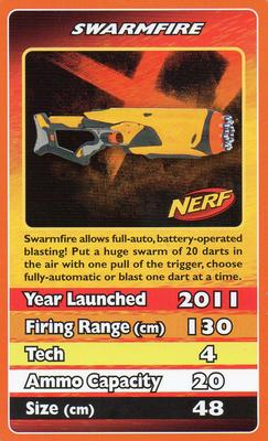 2012 Top Trumps Nerf #NNO Swarmfire Front