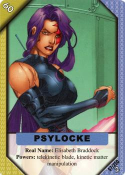 Psylocke Gallery | The Trading Card Database