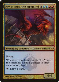 2012 Magic the Gathering Duel Decks: Izzet vs Golgari #1 Niv-Mizzet, the Firemind Front