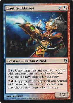 2012 Magic the Gathering Duel Decks: Izzet vs Golgari #4 Izzet Guildmage Front