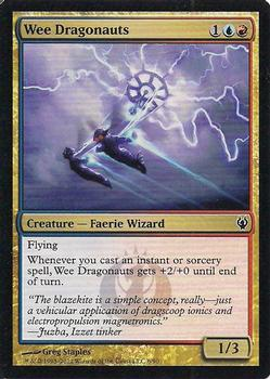 2012 Magic the Gathering Duel Decks: Izzet vs Golgari #6 Wee Dragonauts Front