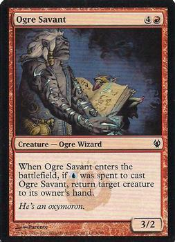 2012 Magic the Gathering Duel Decks: Izzet vs Golgari #9 Ogre Savant Front