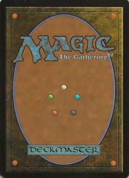 2003 Magic the Gathering Scourge French #101 Chevaucheur de rocher Back