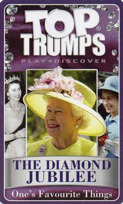 2012 Top Trumps The Diamond Jubilee One's Favourite Things #NNO Title Card Front
