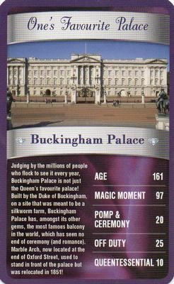 2012 Top Trumps The Diamond Jubilee One's Favourite Things #NNO Buckingham Palace Front