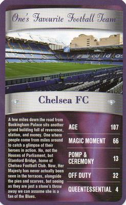 2012 Top Trumps The Diamond Jubilee One's Favourite Things #NNO Chelsea FC Front