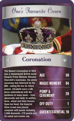 2012 Top Trumps The Diamond Jubilee One's Favourite Things #NNO Coronation Front