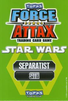 Force Attax Movie Card Count Dooku #124
