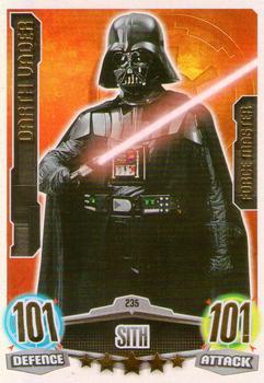 Obi-Wan Kenobi Force Attax Movie Cards 1 173-Dark Vador vs