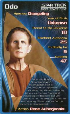Star Trek Top Trumps Card Game