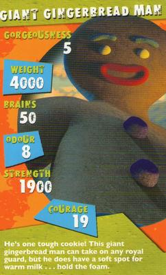 2004 Top Trumps Specials Shrek 2 Nno Giant Gingerbread Man Trading Card Database