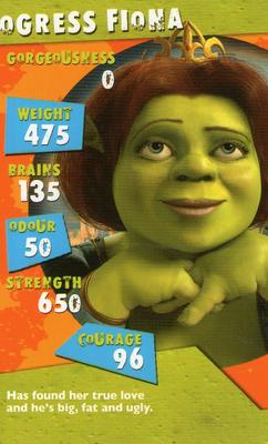 2004 Top Trumps Specials Shrek 2 Gaming Gallery Trading Card Database