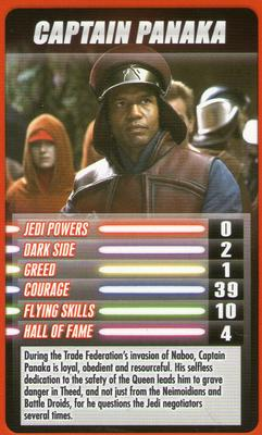 2012 Top Trumps Star Wars Episode 1 #NNO Captain Panaka Front