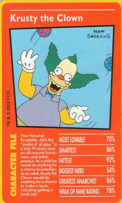 SIMPSONS DOWN UNDER SPRINGFIELDS FINEST CARD SF3
