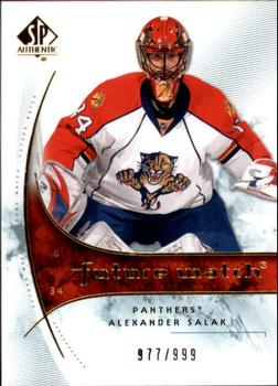 2009-10 SP Authentic #168 Alexander Salak Front