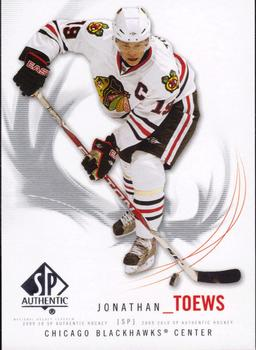2009-10 SP Authentic #19 Jonathan Toews Front