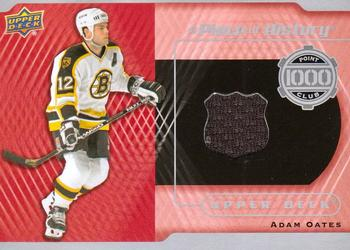 2014-15 Upper Deck - A Piece of History 1000 Point Club Jerseys #PC-AO Adam Oates Front