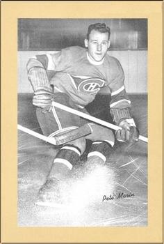 1934-43 Bee Hive Hockey Photos (Group 1) #NNO Pete Morin Front