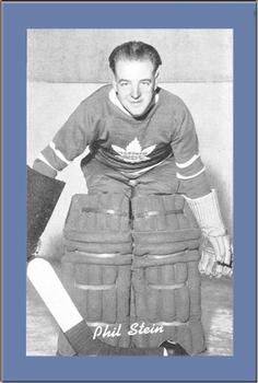 1934-43 Bee Hive Hockey Photos (Group 1) #NNO Phil Stein Front