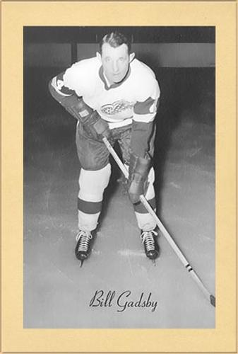 1944-64 Bee Hive Hockey Photos (Group 2) #NNO Bill Gadsby Front