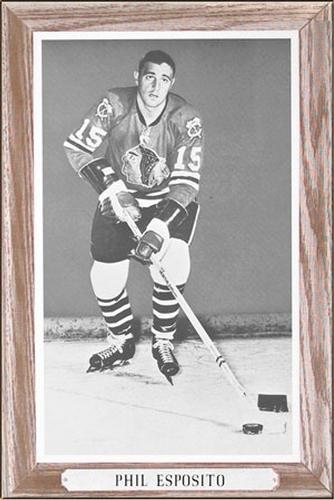 1964-67 Bee Hive Hockey Photos (Group 3) #NNO Phil Esposito Front