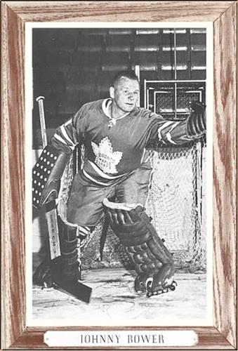 1964-67 Bee Hive Hockey Photos (Group 3) #NNO Johnny Bower Front