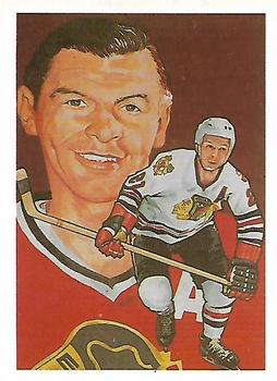 1985 Cartophilium Hockey Hall of Fame #226 Stan Mikita Front