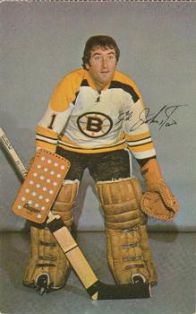 1971-72 Boston Bruins Postcards #NNO Ed Johnston Front