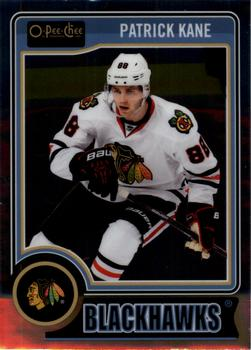 2014-15 O-Pee-Chee Platinum #25a Patrick Kane Front