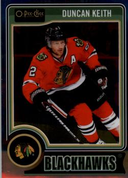2014-15 O-Pee-Chee Platinum #125 Duncan Keith Front