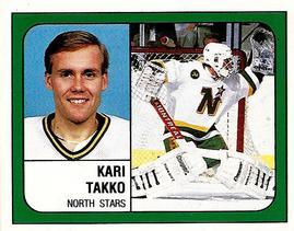 1988-89 Panini Stickers #85 Kari Takko Front