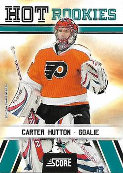 2010-11 Score #532 Carter Hutton  Front