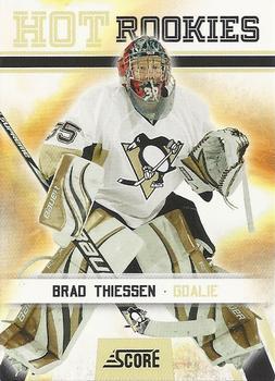 2010-11 Score #510 Brad Thiessen  Front