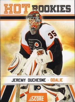 2010-11 Score #528 Jeremy Duchesne  Front