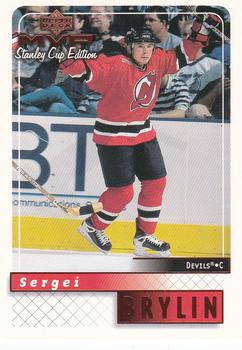 1999-00 Upper Deck MVP Stanley Cup #110 Sergei Brylin Front