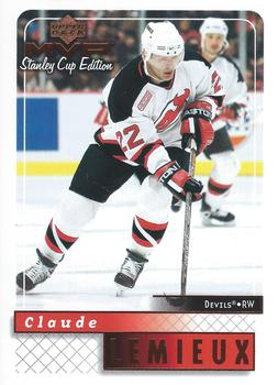 1999-00 Upper Deck MVP Stanley Cup #106 Claude Lemieux Front